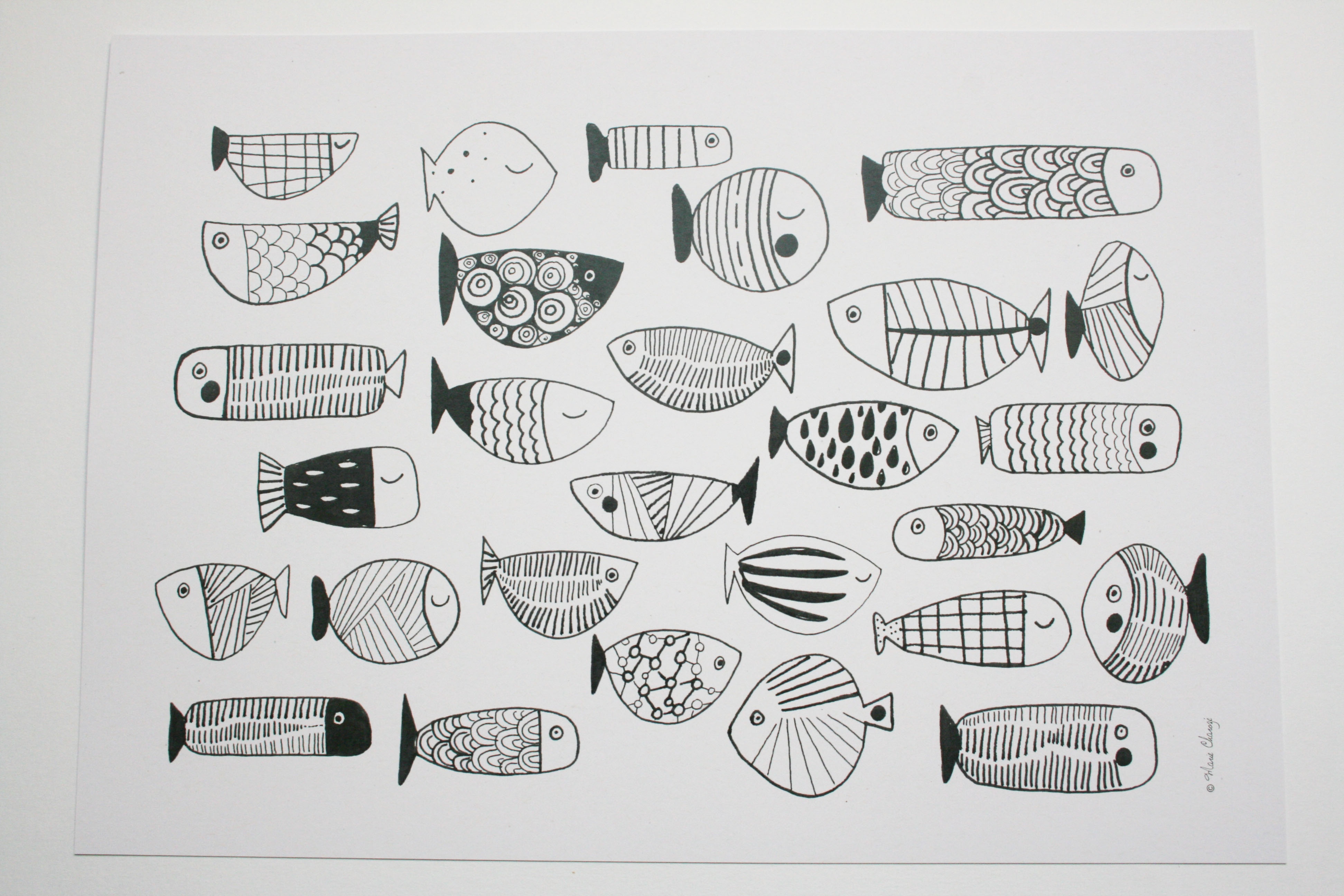 Grand format poissons