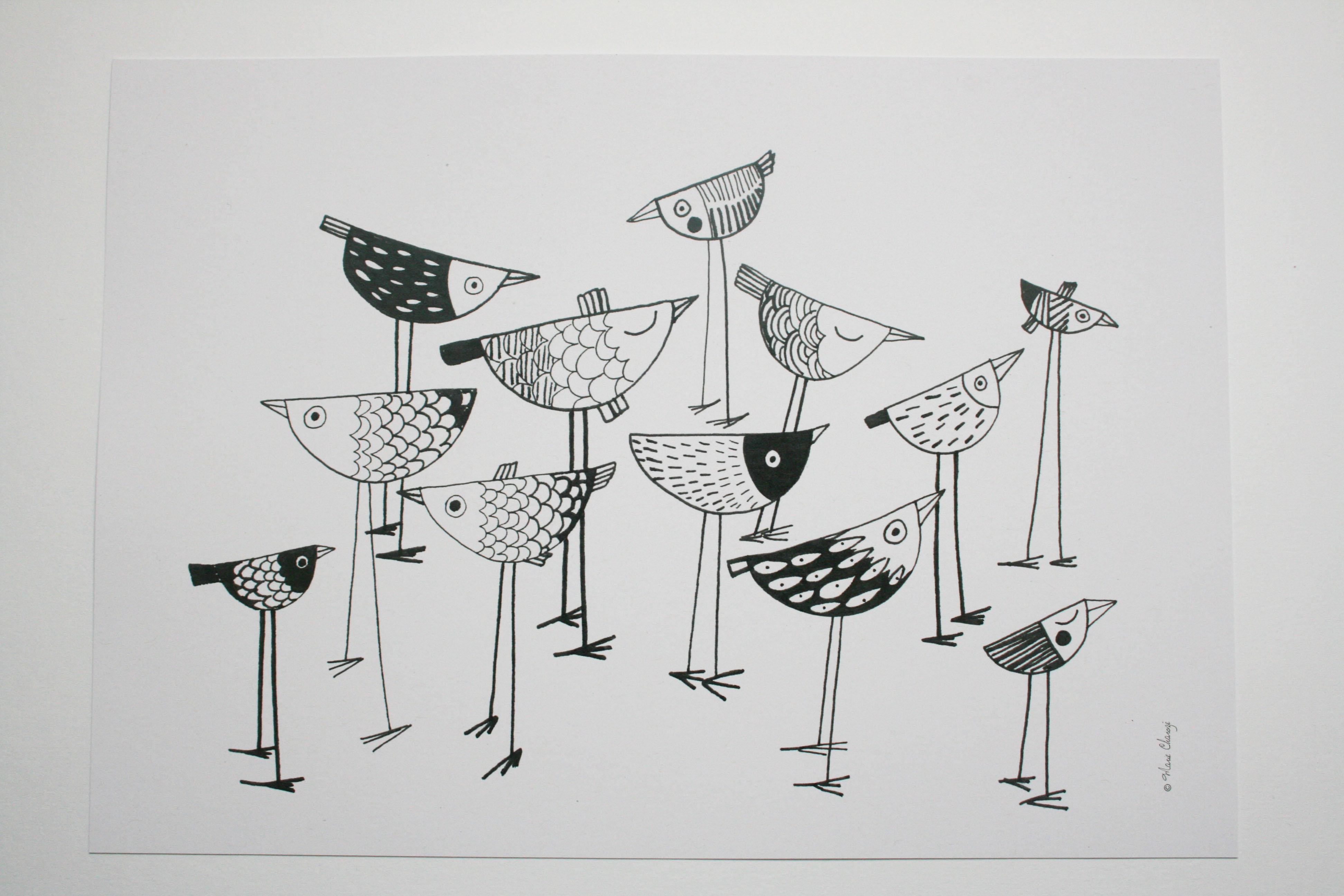 Grand format oiseaux